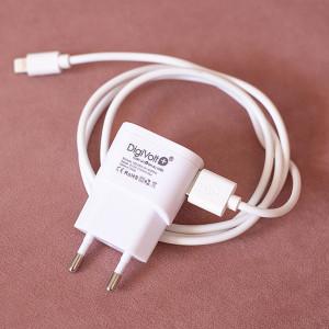 Pack Carregador DigiVolt+ para Telemóvel (2.1A) (Entrega em 24h)