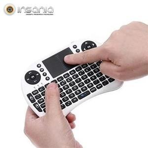 Mini Teclado Sem Fios Touchpad PC e Android - Pequeno e portátil!