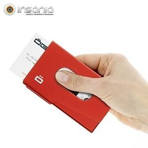 Porta-cartões OneTouch Ögon Vermelho - Otimize o seu negócio!
