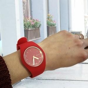 Relógio de Pulso Vermelho (Entrega em 24h)