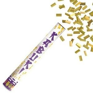 Tubo de confetes Dourado 40 cm | Entregas em 24h | Aproveite Já!