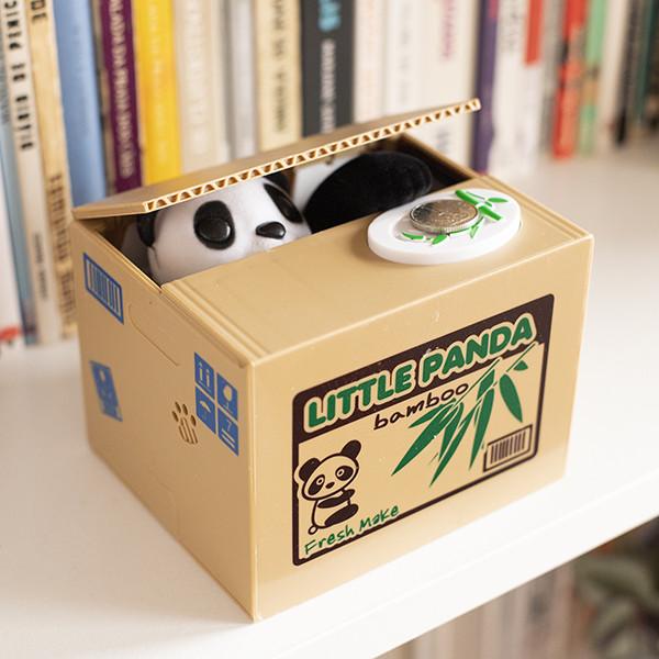 Mealheiro Panda - As suas moedas bem protegidas!