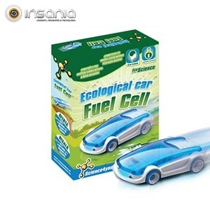 Carro Ecológico Fuel Cell Science4you - Movido a água salgada!