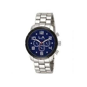 Relógio para Homem L.A Time Azul (Entrega em 24h)