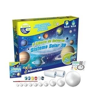 A Ciência do Universo - Sistema Solar 3D Science4you (Entrega em 24h)
