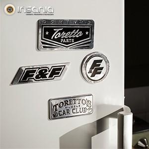 Ímanes Frigorífico Fast and Furious Pack 4 - Para verdadeiros fãs!