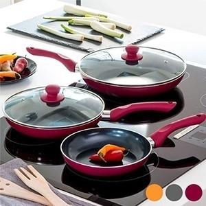 Frigideiras de Cerâmica Cook D'Lux Pack 5 | Entregas em 24h | Aproveite Já!