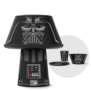 Conjunto para Refeições Empilhável Darth Vader (Entrega em 24h)
