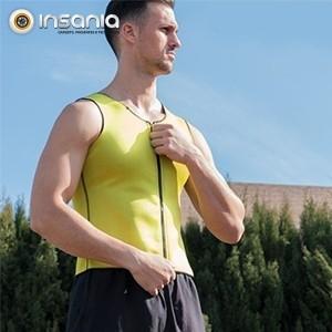 Colete Desportivo Masculino Fit %26 Slim Sauna - Aumenta a temperatura corporal!