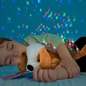 Peluche Projetor LED Cão com Som (Entrega em 24h)