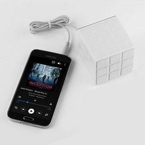 Coluna sem Fios LED Rubik (Entrega em 24h)