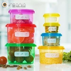 Recipientes de Equilíbrio Nutricional 7 peças - Para uma alimentação saudável!