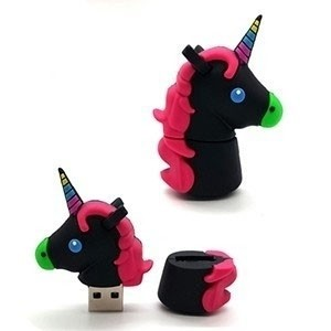 Pen Drive Unicórnio Colorido 8GB (Entrega em 24h)