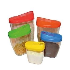 Conjunto de Caixas para Comida (Pack 5) (Entrega em 24h)