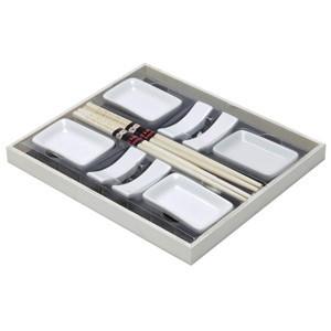 Set de Sushi com Bandeja de Ardósia (11 peças) (Entrega em 24h)